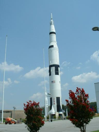Saturn V; A Huntsville Landmark
