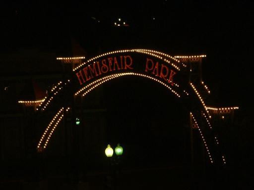 Hemisfair Park Gate