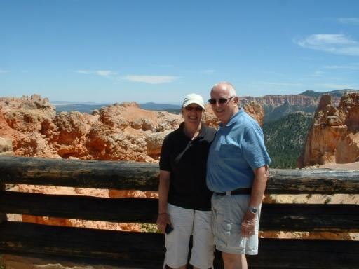 Carla & Bill at Bryce Canyon