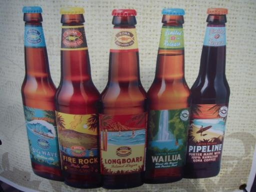 ... und es gibt doch Bier in Hawai'i! :)