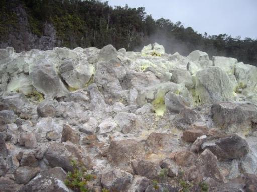 Sulphur Austritt