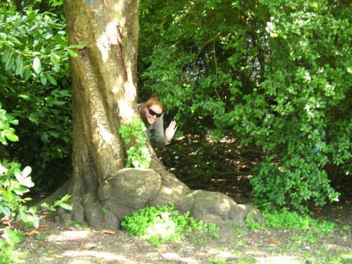 Botanic Gardens 01 Peek-a-boo