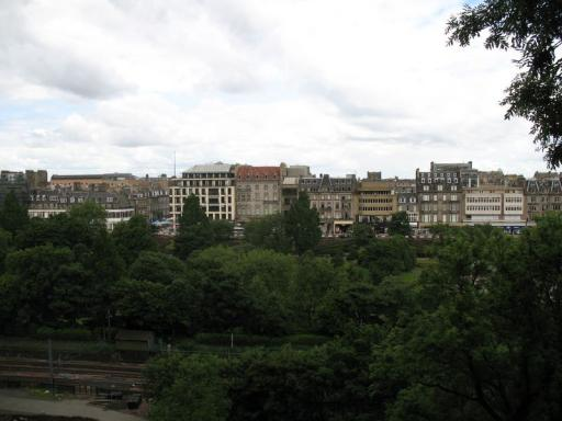 View from castle hill