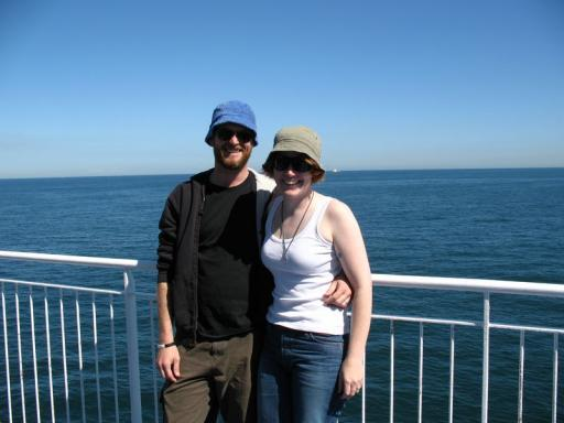 On the P&O Cruise...