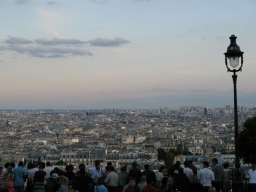 View from Mont Matre