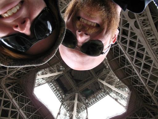Upside down?