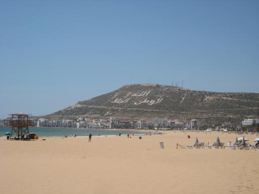 Beach of Agadir