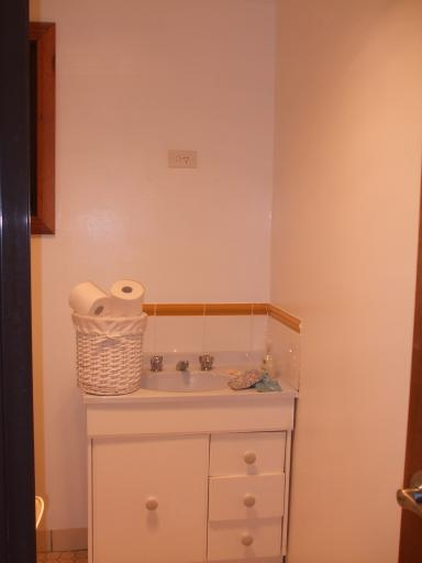 Blue Mtns house - bathroom after repaint