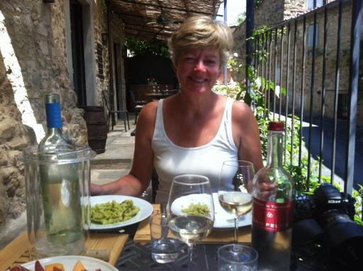 Lunch in Volpaia