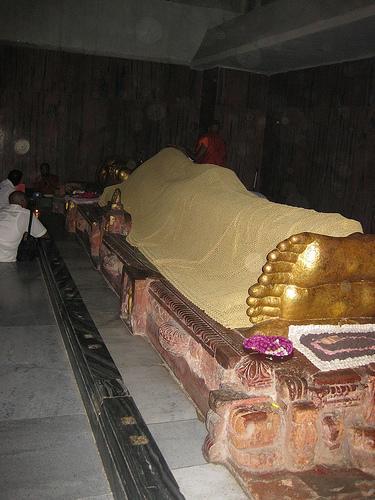 Reclining Buddha - Parinirvana Temple