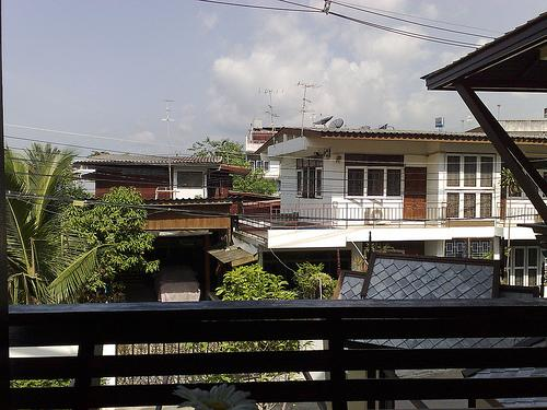 Downtown Chiang Mai neighbourhood
