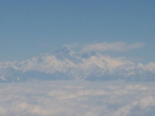 L'Everest, 8848m.