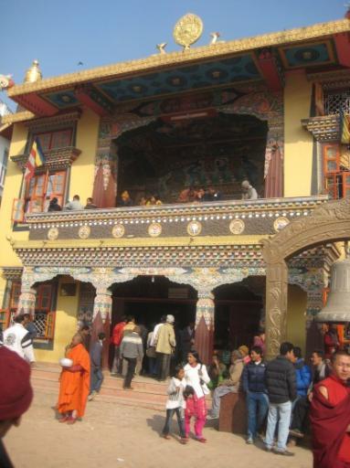 Autour de la Stupa