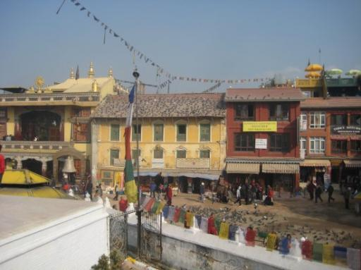 Quartier Boudhiste de Kathmandu
