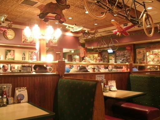 Restaurant at Truck Stop