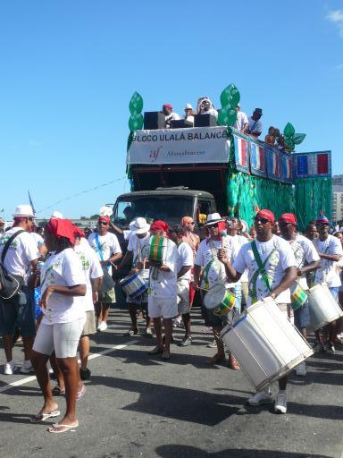 Carnaval an der Copacabana