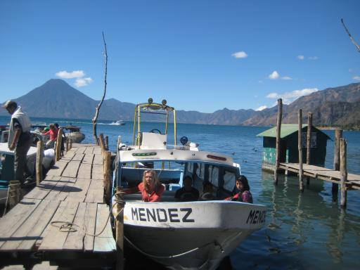 Lake Atitlan Boat