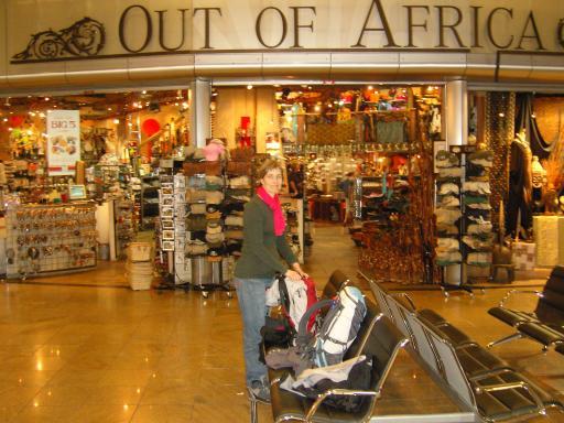 Saa er vi i Afrika