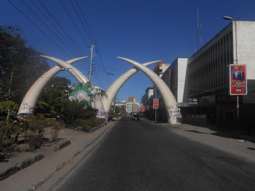 Moi Ave during elections