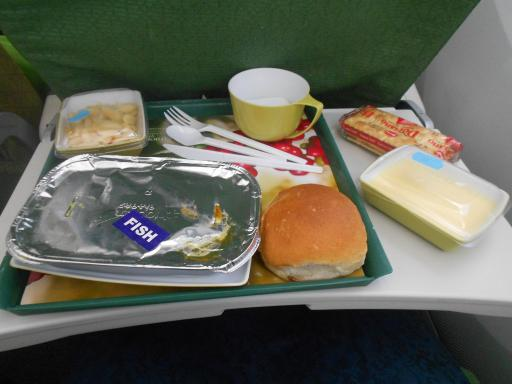 The food in the airoplane