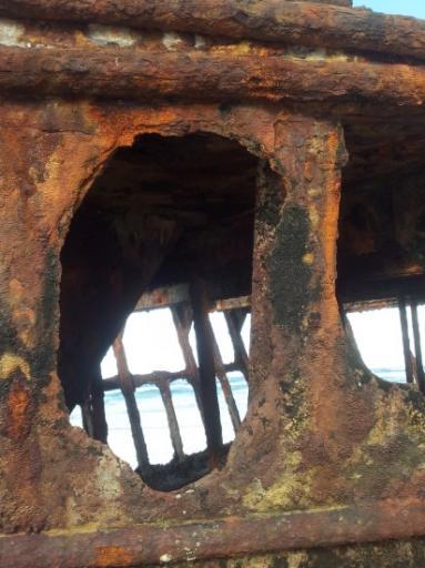 Mahino Shipwreck 2