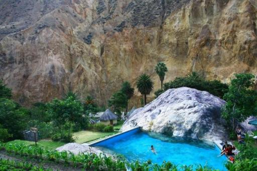 Freshwater Pool At The Oasis In Colca Canyon Mzungu S