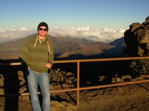 Eejit spoils crater view