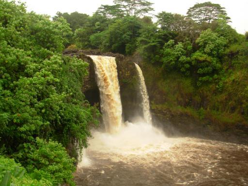 Rainbow Falls? Rancid Falls More Like!