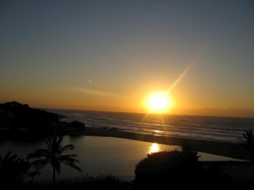 Sunrise over Margate