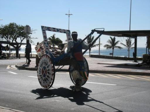 Rick-Shaw on Durban Beachfront