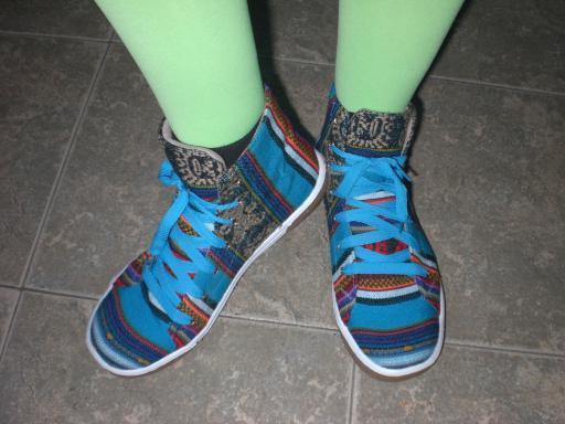 Stefs neue Schuhe