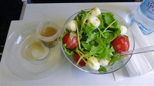 Delicious Airport Lunch