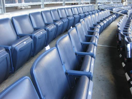 Plush Padded Seats Touching All The Bases