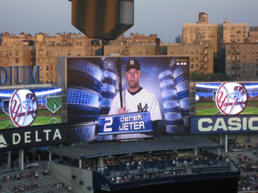 New Yankee Stadium Scoreboard