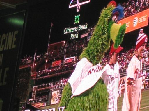 phillies phanatic. Phillies Phanatic with Phans!