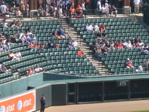 Orange Seat Marks Eddie Murphy S 500th Homerun Touching