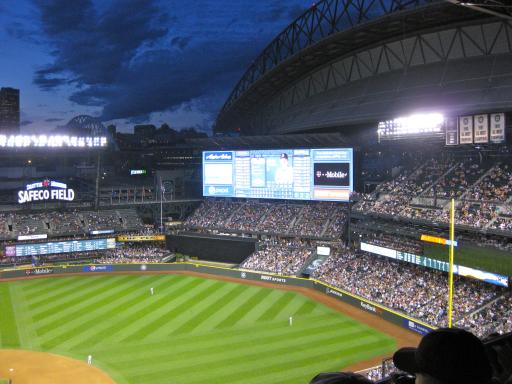 Largest Scoreboard in MLB