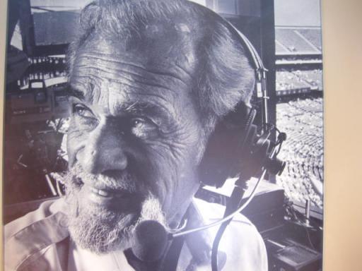 "Legendary A's Announcer Bill King""Holy Toledo!"""