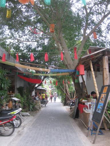 Main street (!)